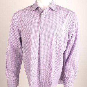 Robert Graham Men's Button-Down Shirt 44 x 17.5